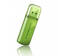 USB Flash Drive 32Gb Silicon Power Helios 101 Green / 20/10Mbps / SP032GBUF2101V1N – интернет-магазин Microtron
