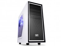 Корпус Deepcool TESSERACT SW White/Black, без БП – интернет-магазин Microtron